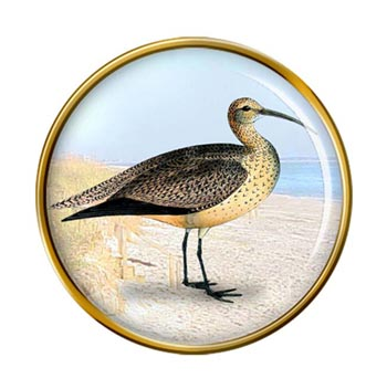 Curlew Pin Badge