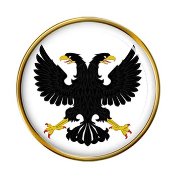 Russian Eagle Pin Badge