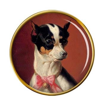 Toy Pinscher by Carl Reichert Pin Badge