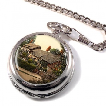 Ann Hathaways Cottage Pocket Watch