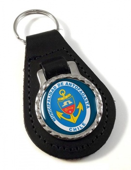 Antofagasta (Chile) Leather Key Fob