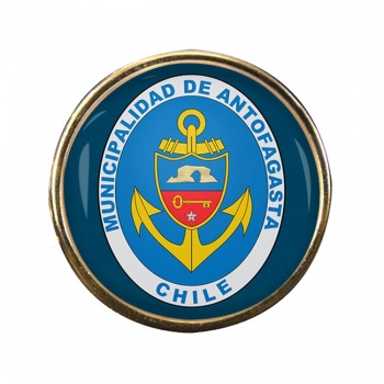Antofagasta (Chile) Round Pin Badge