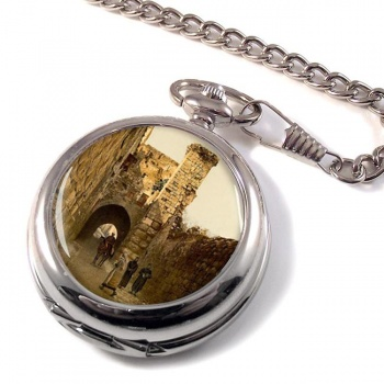 Antonia Tower Jerusalem Pocket Watch