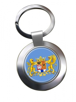 Antwerpen Anvers (Belgium) Metal Key Ring