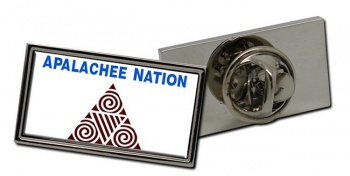 Apalachee Nation (Tribe) Flag Pin Badge