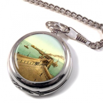 Admiralty Pier Dover Pocket Watch