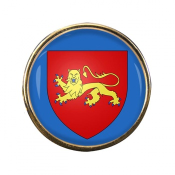Aquitaine (France) Round Pin Badge