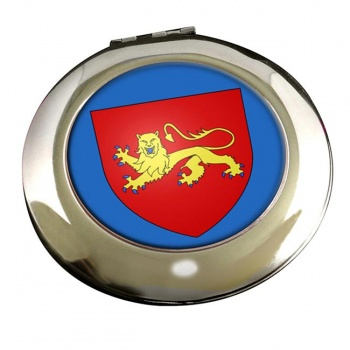 Aquitaine (France) Round Mirror