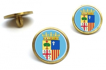 Aragon (Spain) Golf Ball Marker