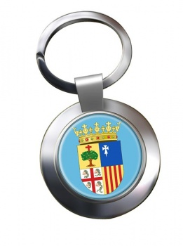 Aragon (Spain) Metal Key Ring