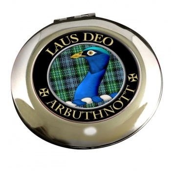 Arbuthnott Scottish Clan Chrome Mirror
