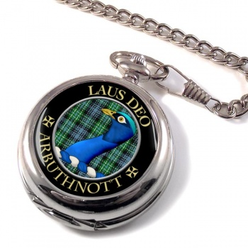 Arbuthnott Scottish Clan Pocket Watch
