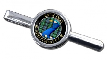 Arbuthnott Scottish Clan Round Tie Clip