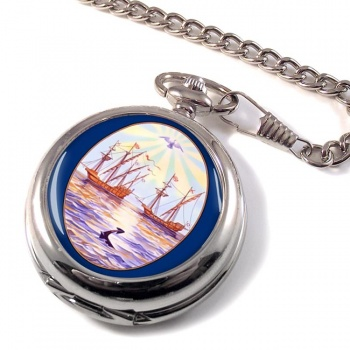 Argentine Buenos Aires City Pocket Watch