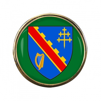 County Armagh (UK) Round Pin Badge