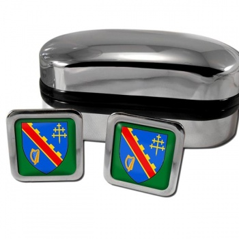 County Armagh UK Square Cufflinks
