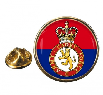 Army cadets Round Pin Badge