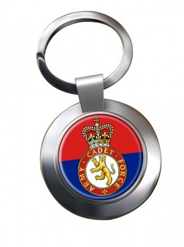 Army cadets Chrome Key Ring