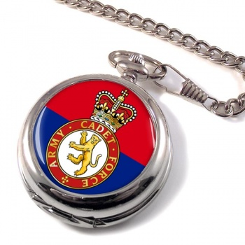 Army cadets Pocket Watch
