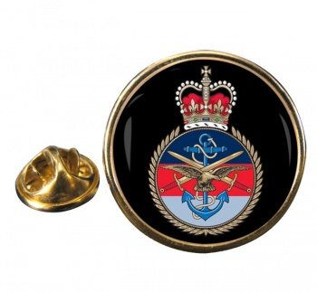 Joint Services Round Pin Badge