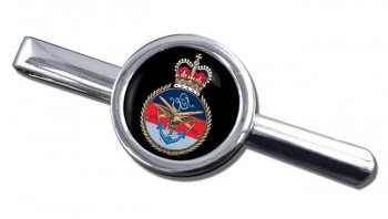 Joint Services Round Cufflink and Tie Clip Set