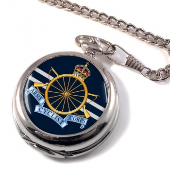 Army Cyclist Corps Pocket Watch