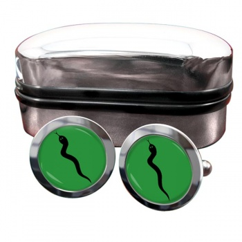 101 Logistic Brigade (British Army) Round Cufflinks