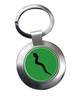 101 Logistic Brigade (British Army) Chrome Key Ring