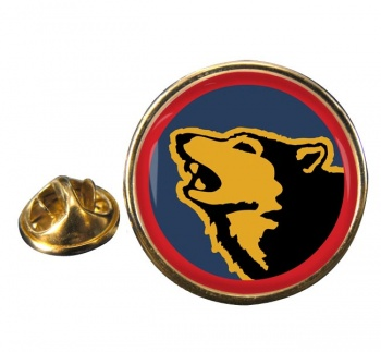 104 Logistic Support Brigade Round Pin Badge