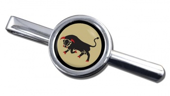 11th Infantry Brigade & HQ South East  (British Army) Round Tie Clip