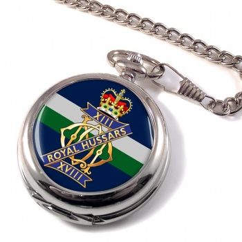 13th-18th Royal Hussars (Queen Mary's Own) British Army Pocket Watch