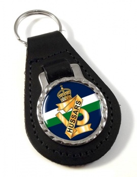 13th Hussars (British Army) Leather Key Fob