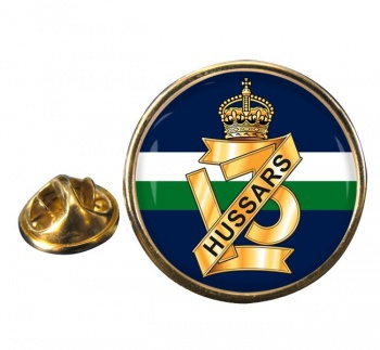 13th Hussars (British Army) Round Pin Badge