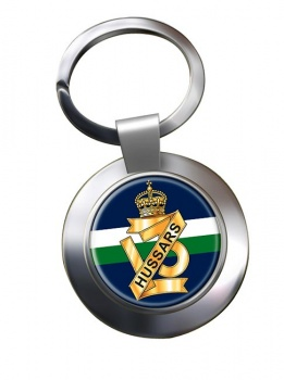 13th Hussars (British Army) Chrome Key Ring