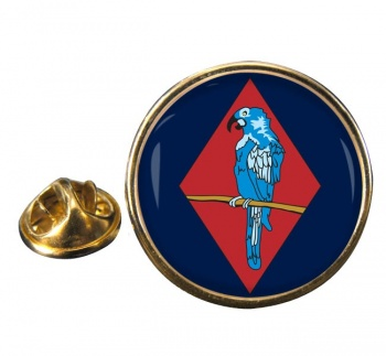 143 (West Midlands) Brigade Round Pin Badge