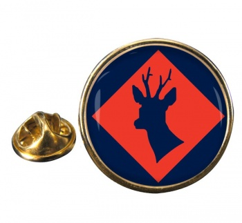 145 (South) Brigade Round Pin Badge