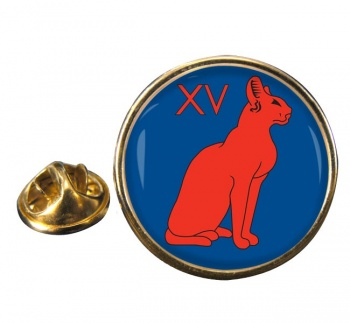 15th Signal Regiment (British Army) Round Pin Badge