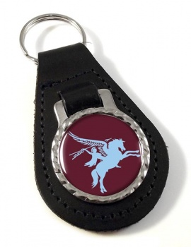 16th Air Assault Brigade Leather Key Fob