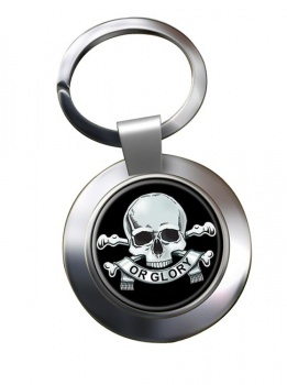 17th Lancers (British Army) (Duke of Cambridge's Own) Chrome Key Ring
