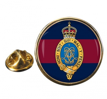 1st Life Guards (British Army) Round Pin Badge