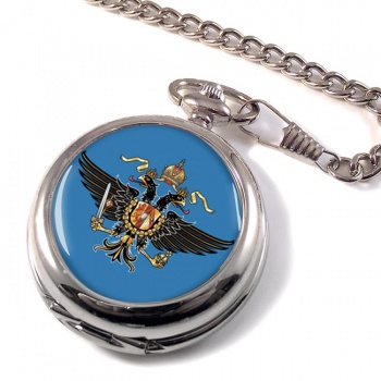 1st Queen's Dragoon Guards (British Army) Pocket Watch