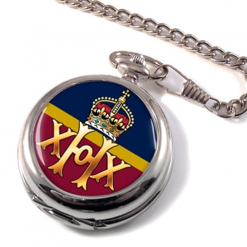 20th Hussars Pocket Watch