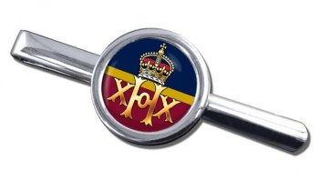 20th Hussars (British Army) Round Tie Clip