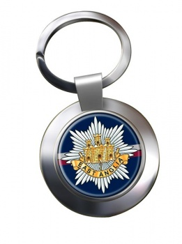 2nd East Anglian Regiment (British Army) Chrome Key Ring
