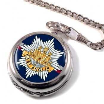 2nd East Anglian Regiment (British Army) Pocket Watch