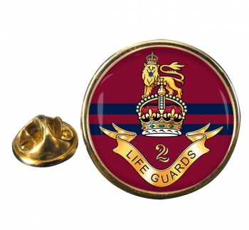 2nd Life Guards (British Army) Round Pin Badge