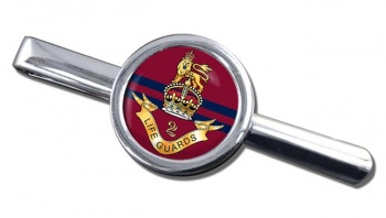 2nd Life Guards (British Army) Round Tie Clip