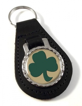 38 (Irish) Brigade (British Army) Leather Key Fob