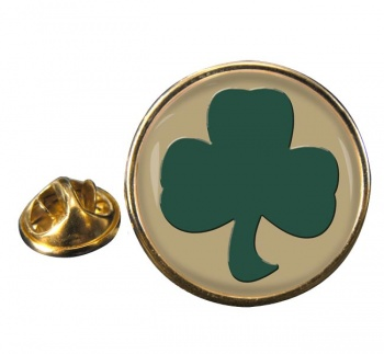 38 (Irish) Brigade (British Army) Round Pin Badge