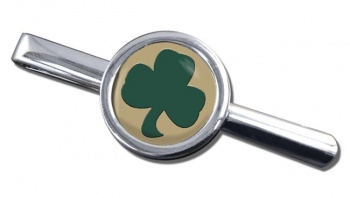 38 (Irish) Brigade (British Army) Round Tie Clip